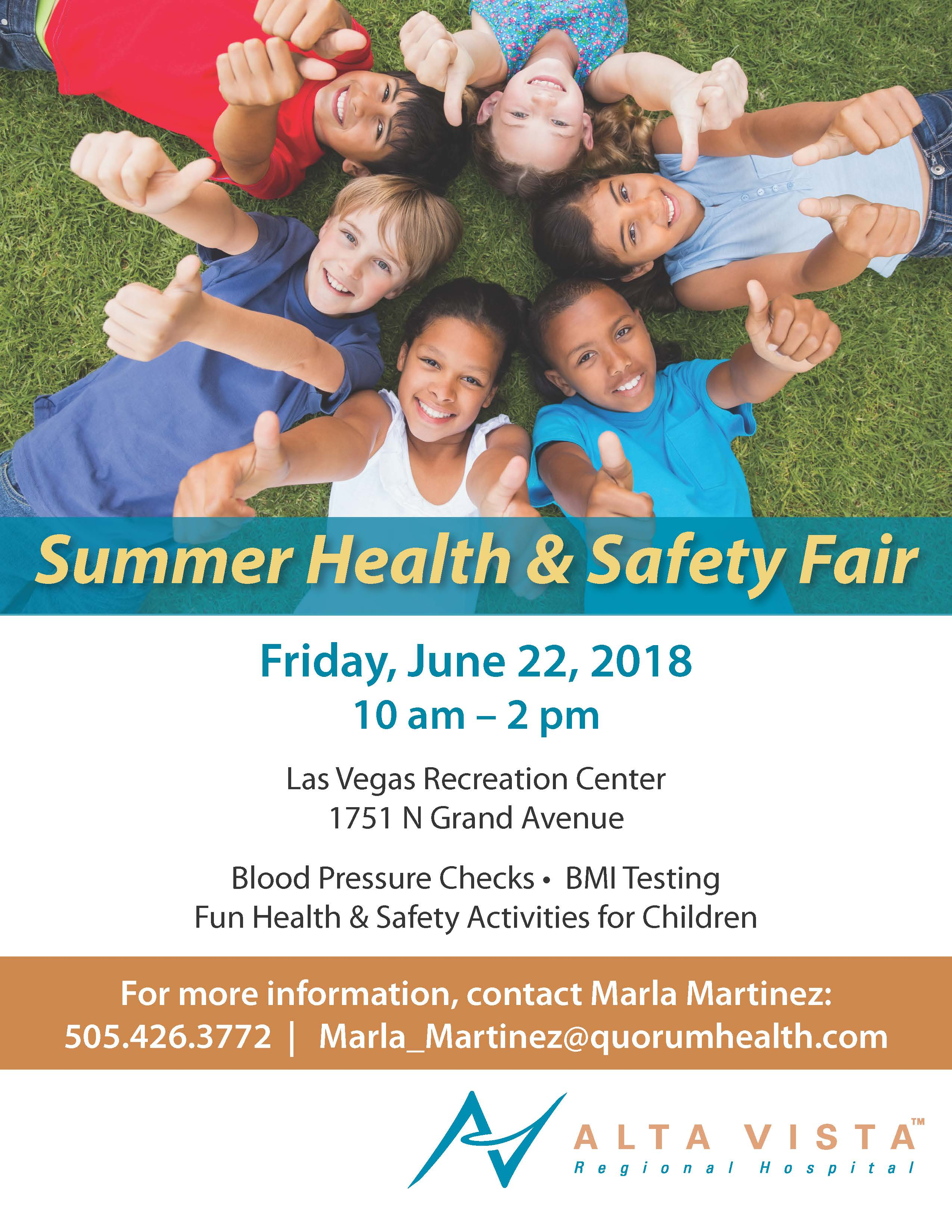 Summer Health & Safety Fair